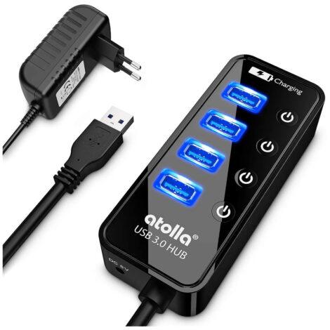 Hub USB 3.0 Alimentato